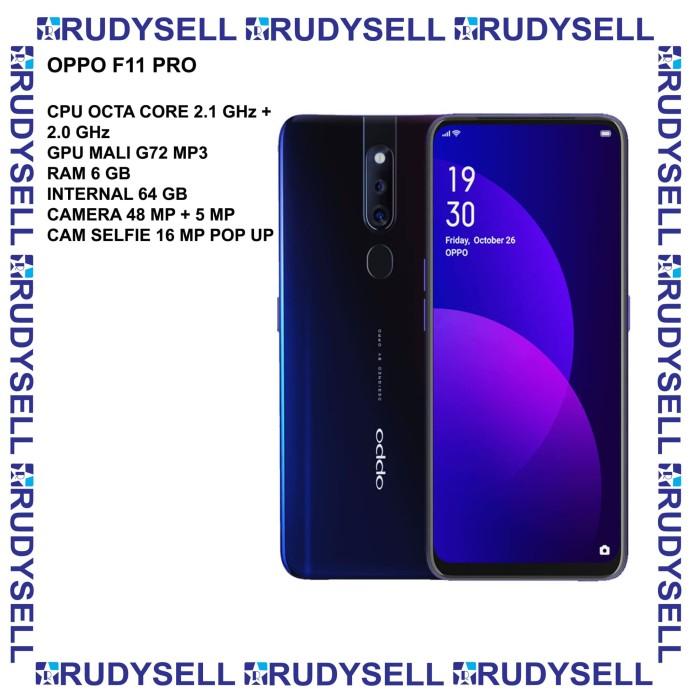Jual Oppo F11 Pro 4 64 Resmi Handphone Termurah Murah Kab