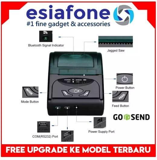 harga Zjiang 58mm mini bluetooth thermal printer kertas kasir pos pawoon Tokopedia.com