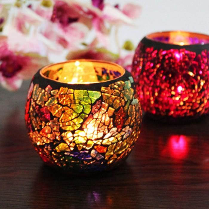 Jual Great Mosaic Candle Holder Romantic Candlelight Dinner Wedding Jakarta Selatan Kikygalery Tokopedia