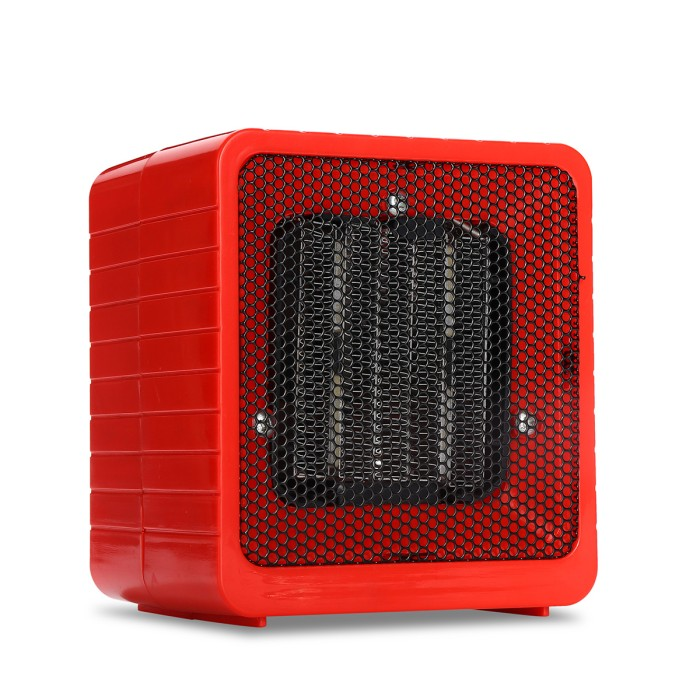 Electric Portable Heater//space heater//Desktop Heater,500W,Red
