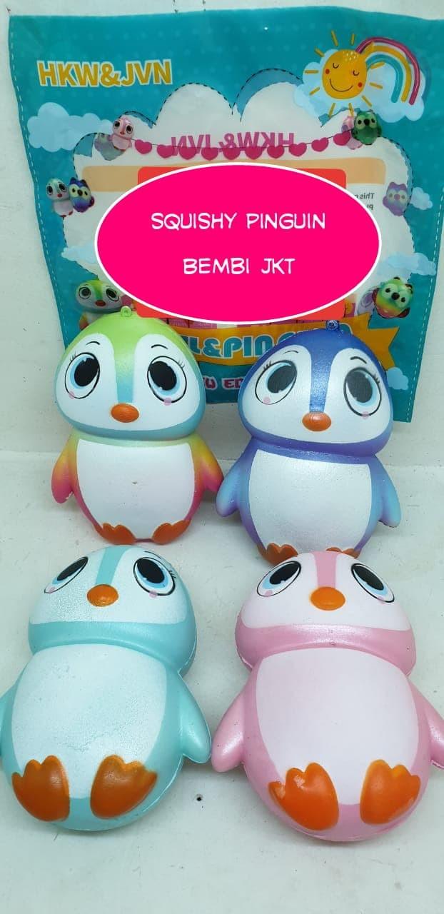 Jual Lol New Sell Squishy Soft Pinguin Lisensi Boneka 10cm Penguin Lucu Jakarta Selatan Bembi Jkt