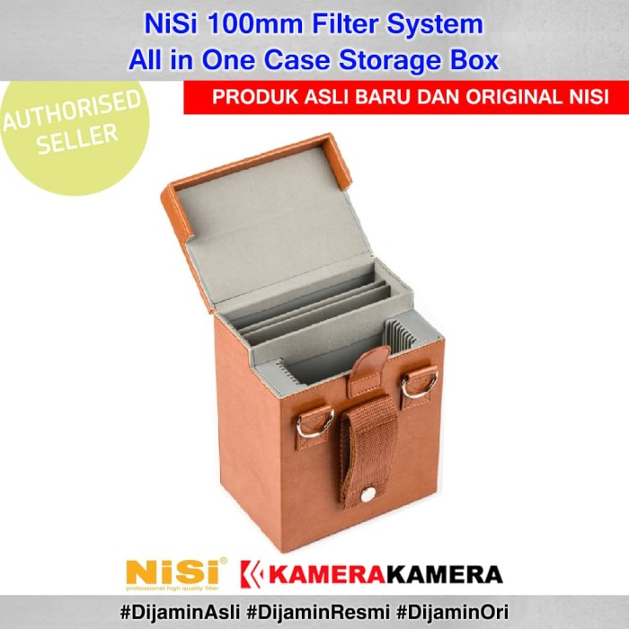 harga Nisi 100mm filter system all in one case storage box Tokopedia.com