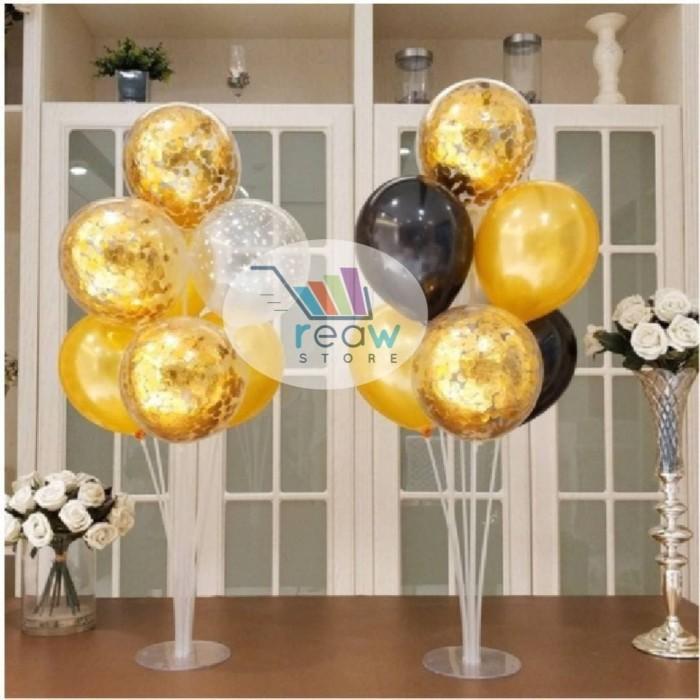 Foto Produk Standing Stick Cup Balloon Decoration / Tiang Dekorasi Balon 7 in 1 dari Reaw Store