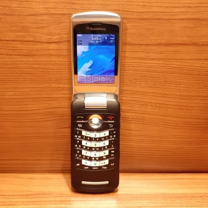 Jual Hp Handphone Blackberry Bb 8220 Flip Pearl Bukan Q10 Bold 9105