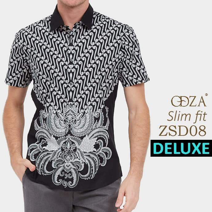 Baju batik / kemeja  modern pria / kemeja pendek / atasan batik ls146