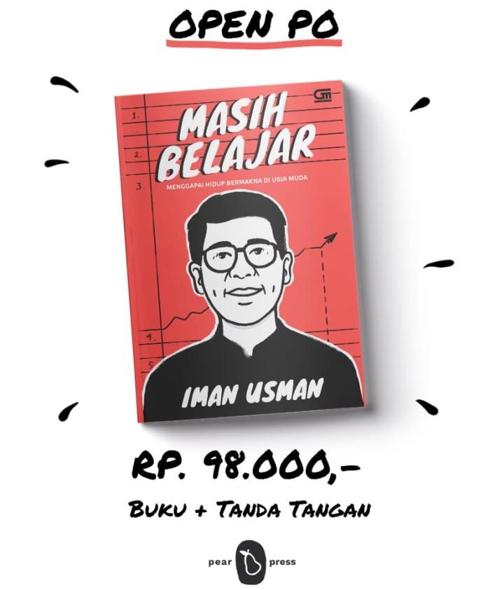 Foto Produk Buku Masih Belajar, by: Iman Usman (Open Pre Order - LIMITED STOCK) dari Masih Belajar Project