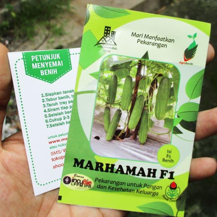 Foto Produk Mentimun Hijau Marhamah 85biji dari mewalik-jaya