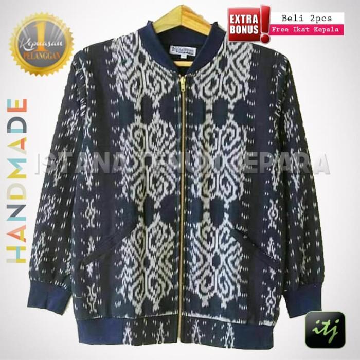 harga Jaket tenun pria asli handmade anti mainstream batik etnik Tokopedia.com