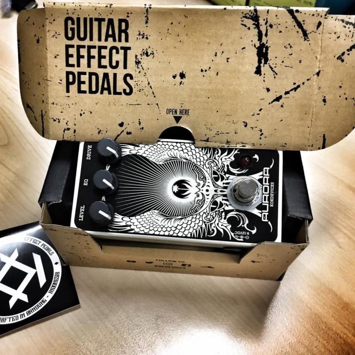 harga Pedal efek gitar stompbox overdrive tube screamer aurora overdrive Tokopedia.com