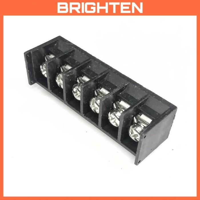 Foto Produk Terminal Kabel PCB 6 pin 90 derajat / L - 3/8 inch dari BRIGHTEN SHOP