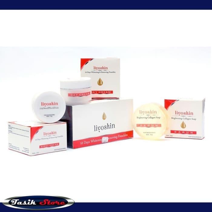 Foto Produk Cream whitening Liyoskin BPOM pemutih wajah tercepat kulit Membandel dari Tasik Store