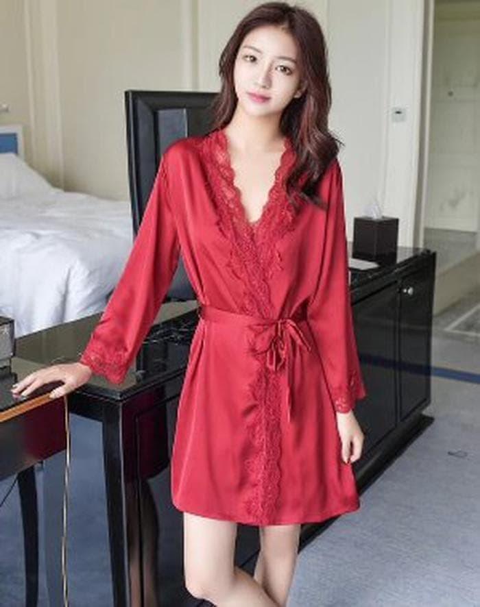 727405eedf6 HARGA HEMAT Baju Tidur Lingerie Dewasa Wanita Sexy Kimo Berkualitas