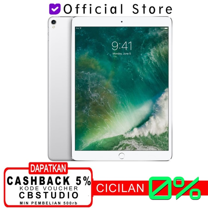 harga Apple ipad pro 10.5 2017 wifi + cellular 256gb 256 garansi 1 tahun - space grey Tokopedia.com