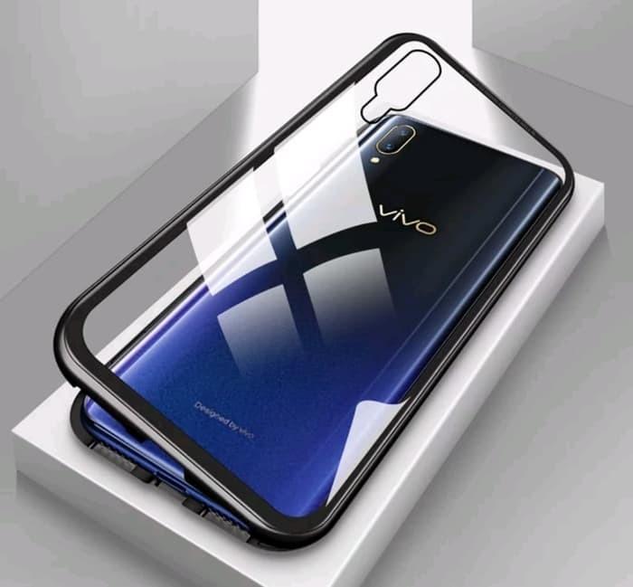 harga Samsung galaxy s10 lite s10e luxury magnetic case tempered glass back Tokopedia.com