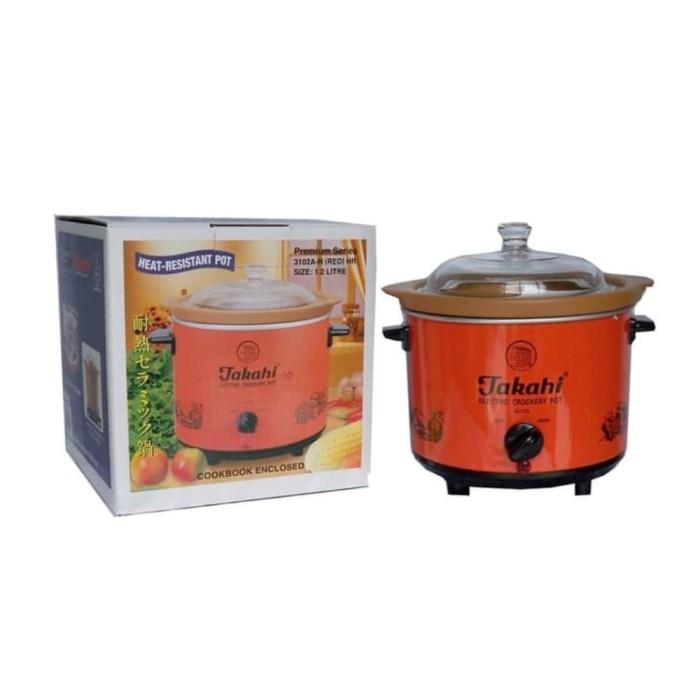 harga (gojek/grab only) takahi slow cooker 12 liter Tokopedia.com