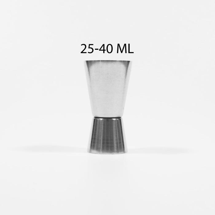 harga Jigger 25/40 ml | measuring cup stainless steel Tokopedia.com