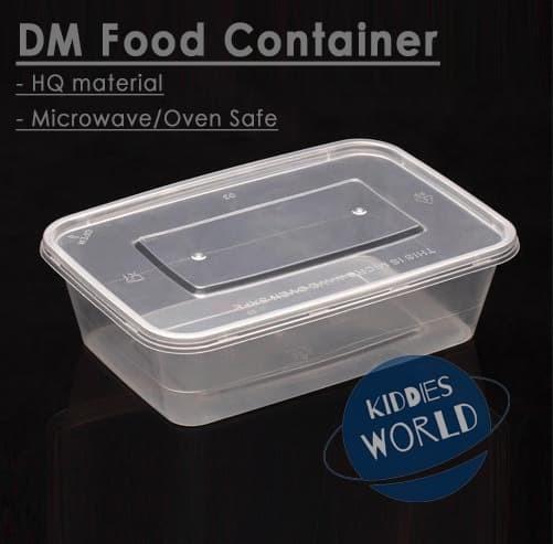 Foto Produk Food Container / Thinwall / Kotak Plastik / Kotak Makan / Salad 750ml dari Kiddies World