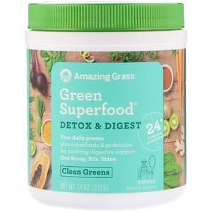 Foto Produk Amazing Grass Green Superfood Detox N Digest 210 g dari Healthy Groceries