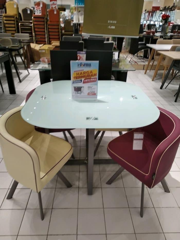 Jual Dutton Dining Set Informa Meja Makan Minimalis Meja Makan Mmmz Dki Jakarta Askanah Shop Tokopedia