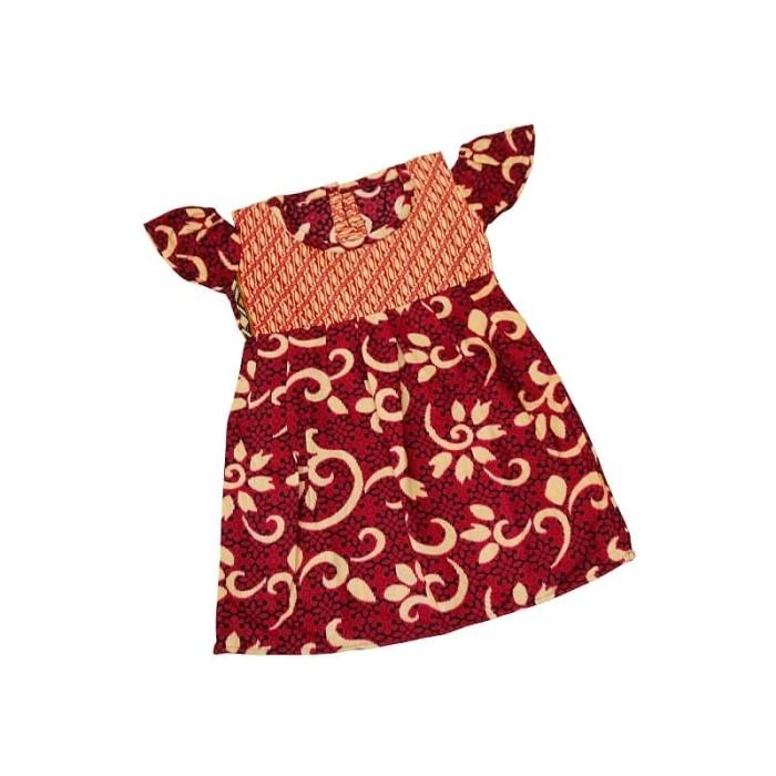 Jual Dress Batik Warna Anak Model Sabrina Size S Baju Batik Anak Perempuan Kab Tangerang El Mar Baby Kids Wear Tokopedia