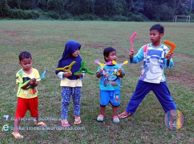 Foto Produk Bumerang Boomerang Tradisional dari Vayuya Yuliant shop