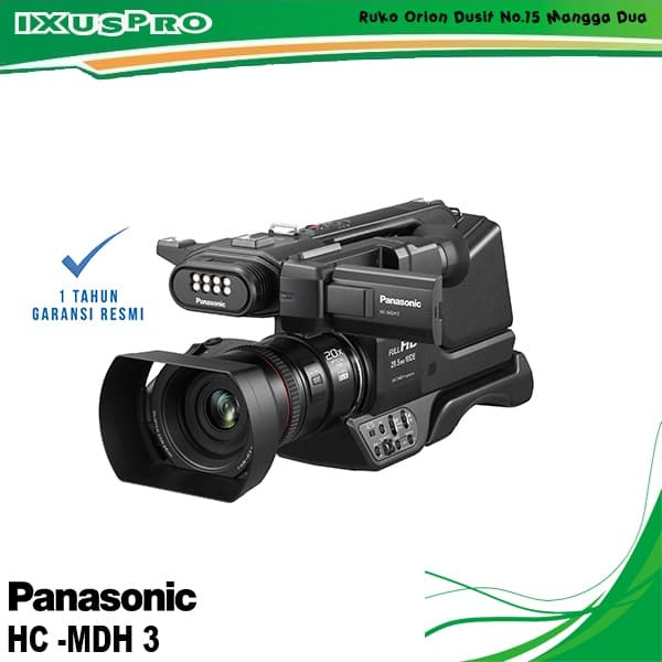 harga Handycam panasonic hc- mdh 3 profesional hd camcorder Tokopedia.com