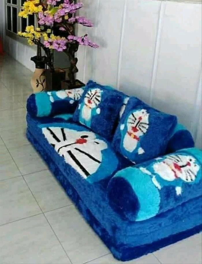 Doraemon Bandung GaleryTokopedia Best Jual Bed Karakter Tua Kota Quality Yaning Sofa Biru WDH9YIebE2
