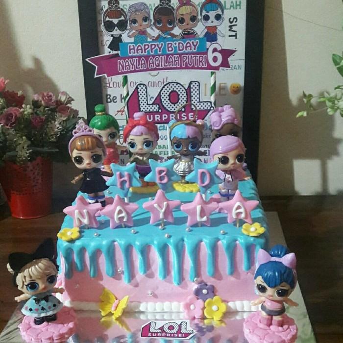 Jual Kue Ultah Lol Surprise Topper Lol Surprise Cake Kota Tangerang Selatan Baju Alya Shop Tokopedia