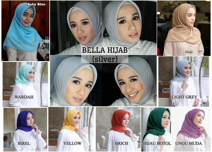 Cara Memakai Hijab Bella Square Hijabfest
