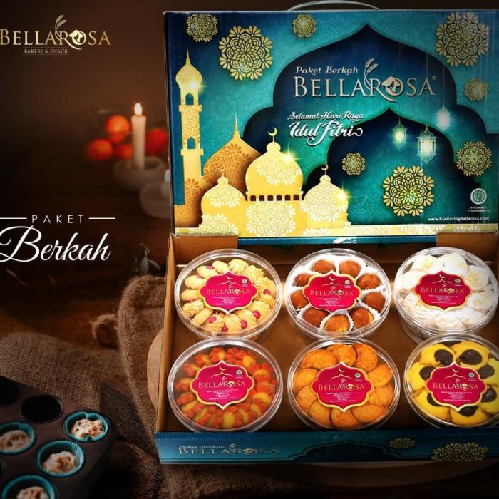 Paket Kue Kering Lebaran Bellarosa -