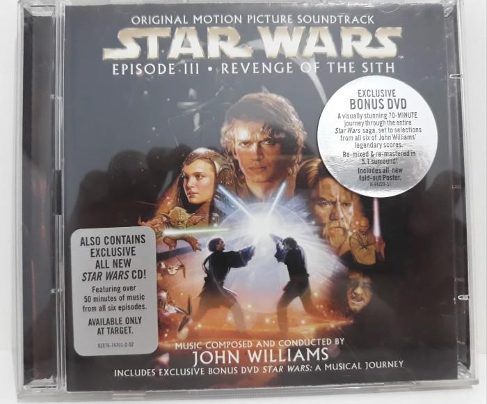 Jual Cd Ost Star Wars Episode 3 Revenge Of The Sit Jakarta Utara Live For Happy Tokopedia