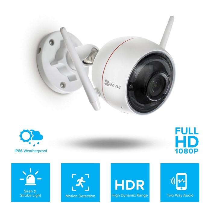 Foto Produk IP Cam Smart Camera Outdoor MBB Ezviz Husky Air Full HD Murah dari Mitra Berkat Bersama