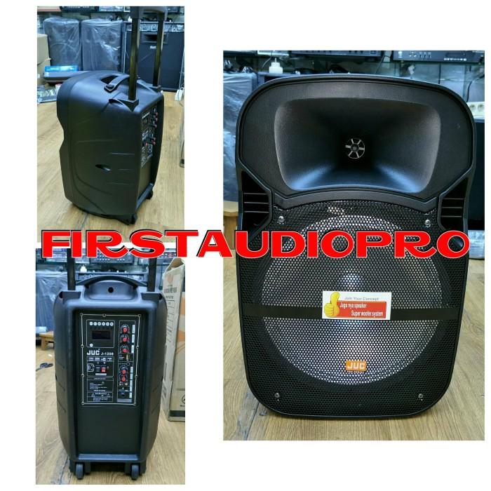 harga Speaker portable meeting wireless juc j 1208 j1208 12inch Tokopedia.com