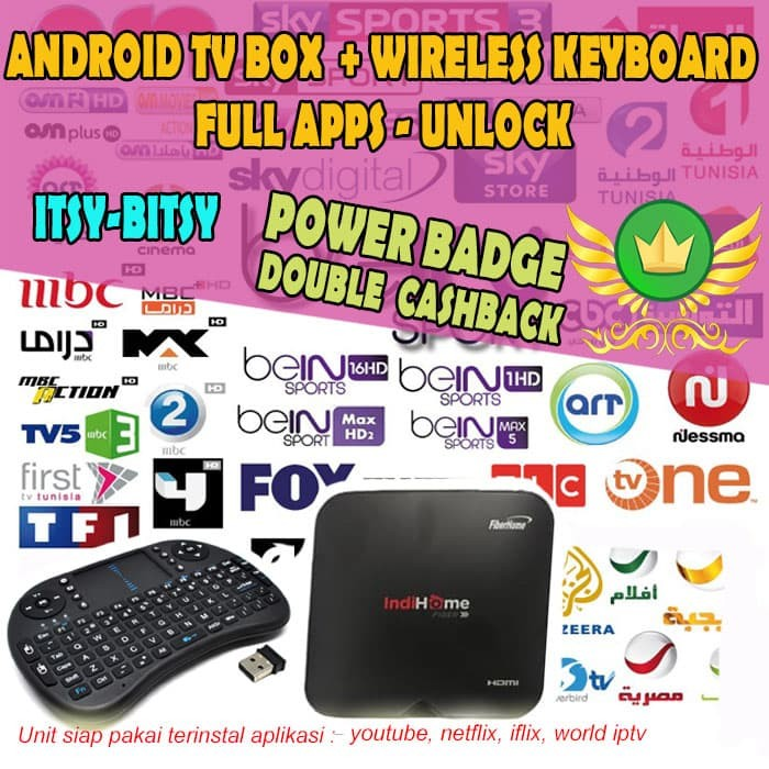 Review Android Tv Box Stb Smart Tv HG680 RAM 2GB + Wireless