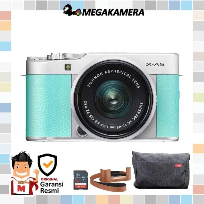Kamera Mirrorles Fujifilm X A5 Kit 15 45mm Pz Fuji Xa5 Varian X A3
