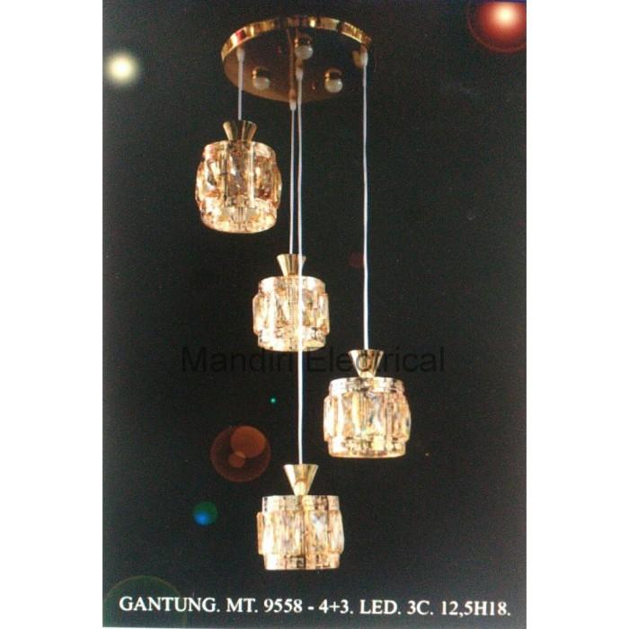 Jual Lampu Gantung Dekorasi Ruang Tamu Meja Makan Minimalis Mt 9558 Jakarta Pusat Sabira Store Tokopedia