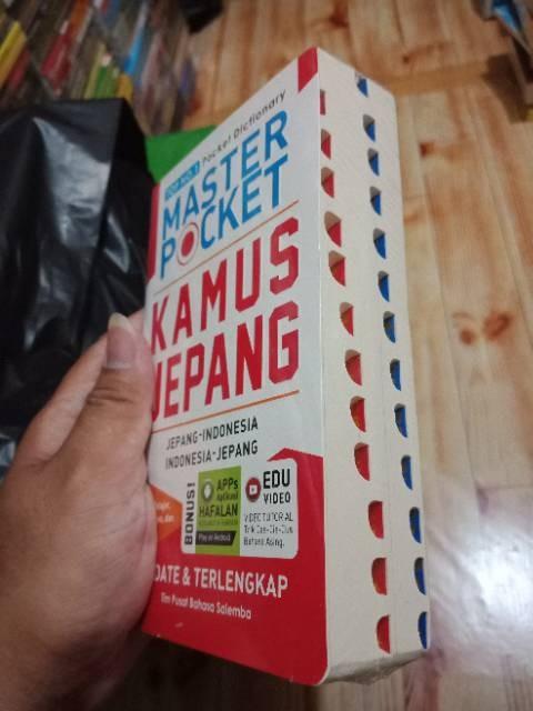 Jual TOP 1 MASTER POCKET KAMUS JEPANG INDONESIA INDONESIA JEPANG - Jakarta  Pusat - Links Mart | Tokopedia