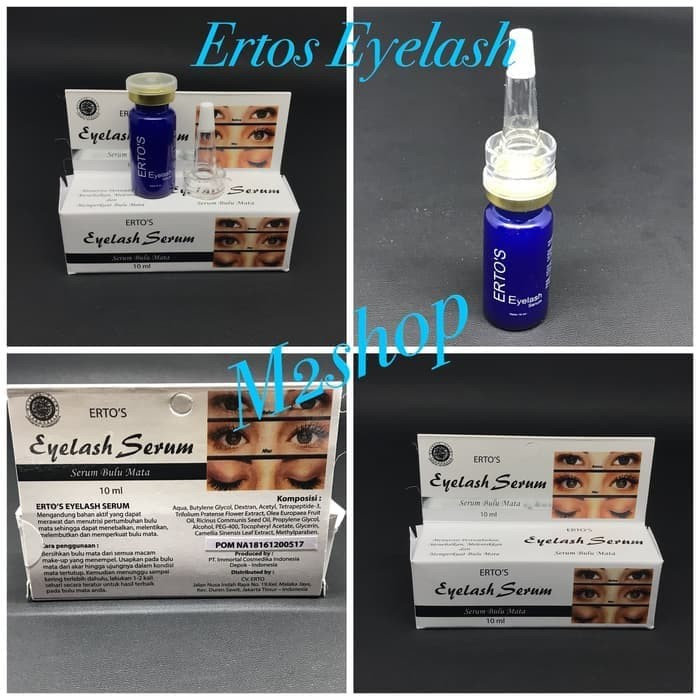 New [ SERUM ] Ertos eyelash serum - Pelentik bulu mata BPOM