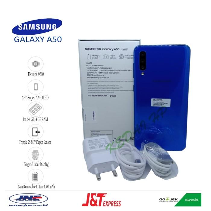 harga Samsung galaxy a50 4/64gb garansi resmi - biru Tokopedia.com