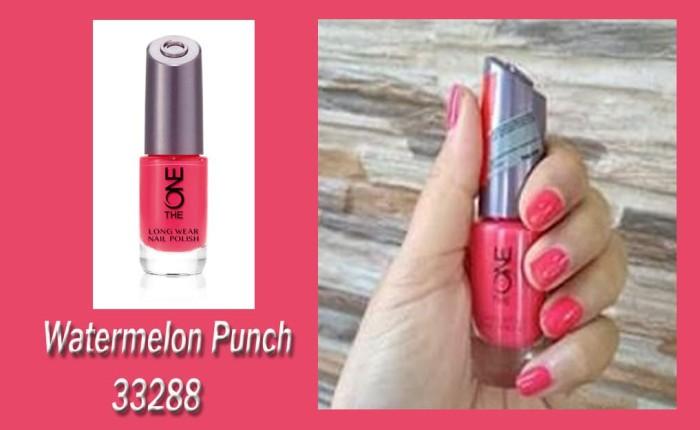 Jual The ONE Long Wear Nail Polish Watermelon Punch Cat Kuku Pink ...