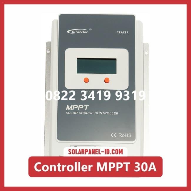Jual Solar Charge Controller MPPT 30A 12v 24v Epever Tracker Ep solar -  Kota Surabaya - SOLARPANELID | Tokopedia