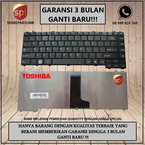 Foto Produk keyboard laptop Toshiba L645 C600 C640 L600 L630 L635 L640 dari SparepartLink