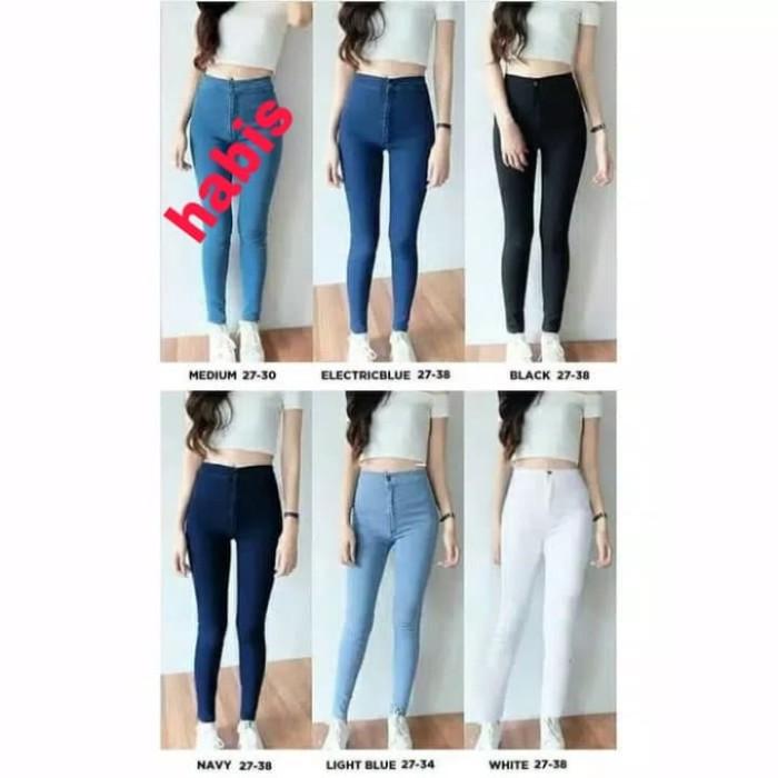 Jual Celana Panjang Wanita Celana Jeans Wanita Kekinian Fashion Wanita Hitam 28 Jakarta Barat Bintang Store 1 Tokopedia