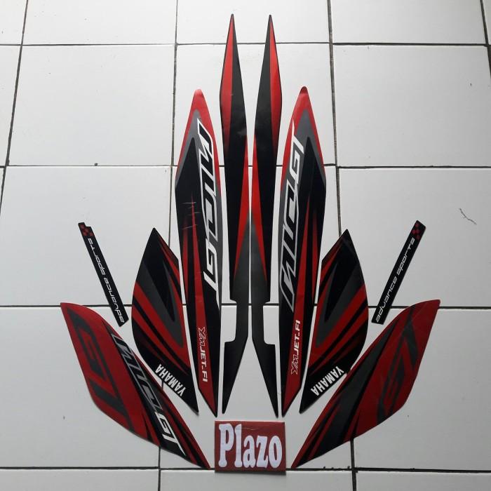 Foto Produk Stiker Motor Mio Gt 2014 Hitam-Merah dari plazo_id