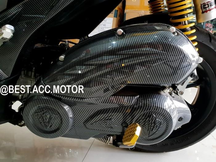 Foto Produk Cover / Tutup CVT Mesin NEMO Carbon Yamaha Aerox 155 dari BEST ACC MOTOR