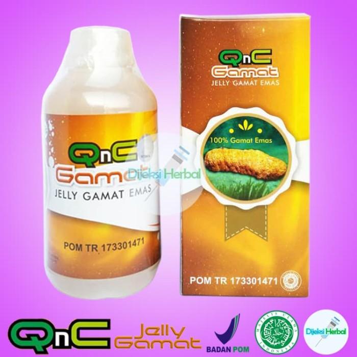 Foto Produk Obat Fistula Ani Bengkak Dan Nyeri QNC Jelly Gamat dari Dijeksi Herbal