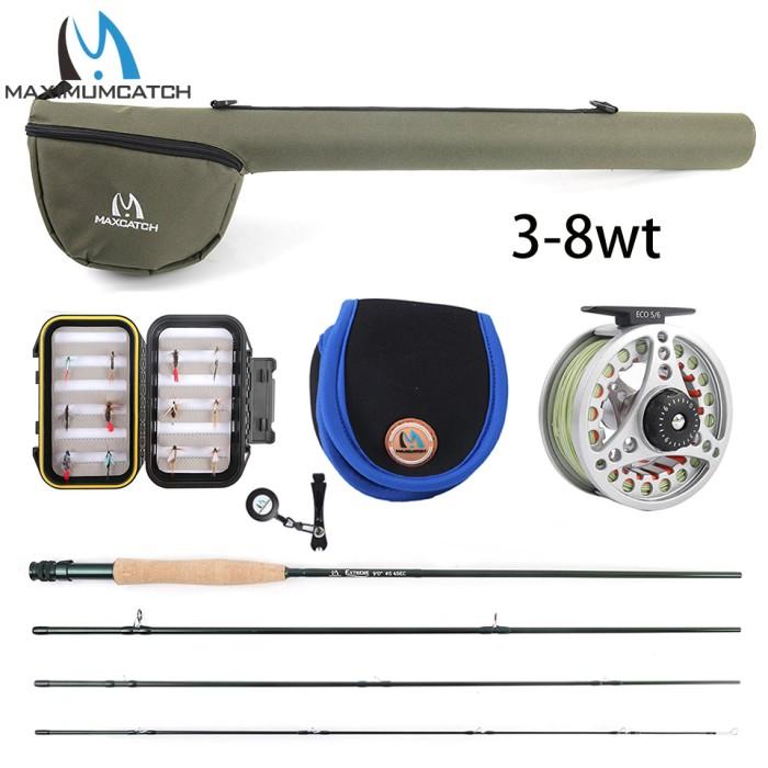 Maxcatch 2 pcs Portable Fly Fishing Rod Rack Holder Rod Stand High Density Foam