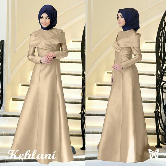 Jual Premium Dress Maxi Gamis Baju Wanita Muslim Kehlani Balotely Goo Jakarta Barat Bloomofficial Tokopedia
