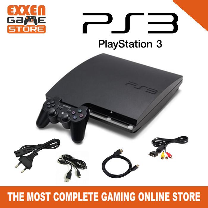 Jual PS3 Slim 500gb Sony Playstation 3 Slim CFW 3000 HDD 500gb PS3 Slim Ori  - Jakarta Barat - exxengame | Tokopedia