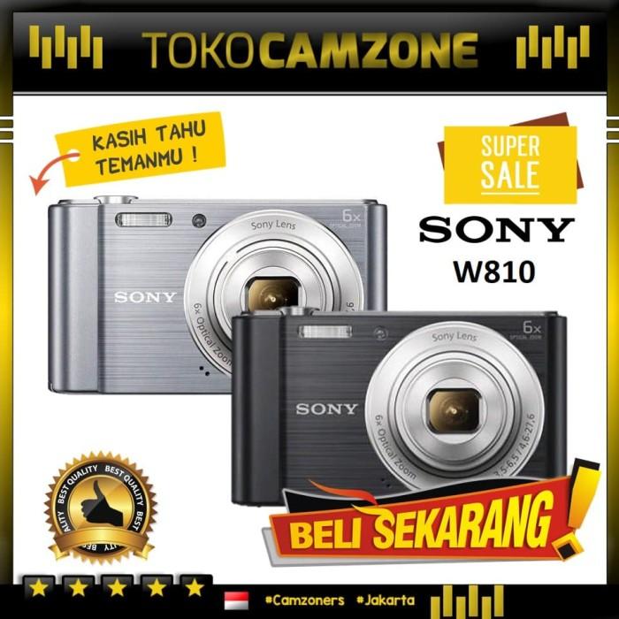 harga Sony cyber-shot w810 - silver Tokopedia.com